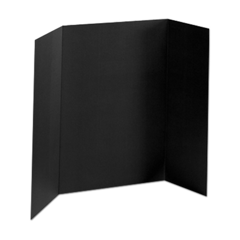 36 x 48 foam black tri fold display board 24 boards