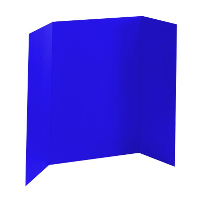 Blue Tri Fold Board