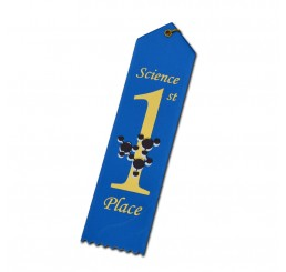 Atom Ribbon - First Place - Blue