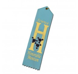 Atom Ribbon - Honorable Mention - Light Blue