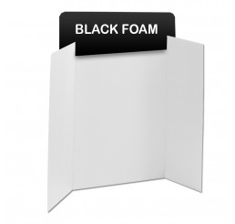 Black Foam Header Boards