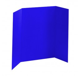 36 x 48 - 1 Ply Dark Blue Tri Fold Display Board (25 Boards / Box) $3.40 ea