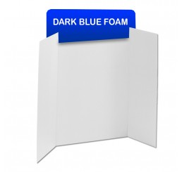 Dark Blue Foam Header Boards