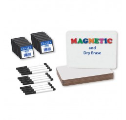 Dry Erase Boards - 9x12 Magnetic Kit