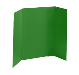 36 x 48 - Foam Green Tri Fold Display Board (24 Boards / Box) $6.95 ea