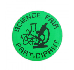 Science Fair Participant Button