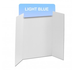 Light Blue Corrugated Header Boards