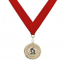 18 Karat Gold Science Medal - Second Place