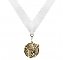 Antique Gold Science Medal - Third Place