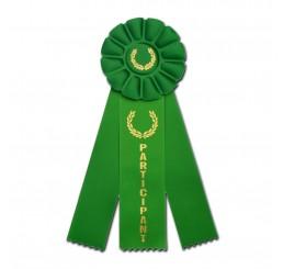Rosette Ribbon - Participant - Green