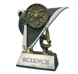 Science Fair Award Trophy - 3rd Place Science