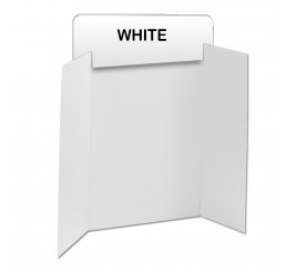 White Corrugated Header Boards