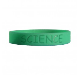 Science Fair Silicone Wristband - Glow In The Dark