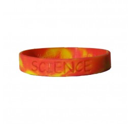 Science Fair Silicone Wristband - Sunburst