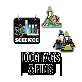 Dog Tags and Pins